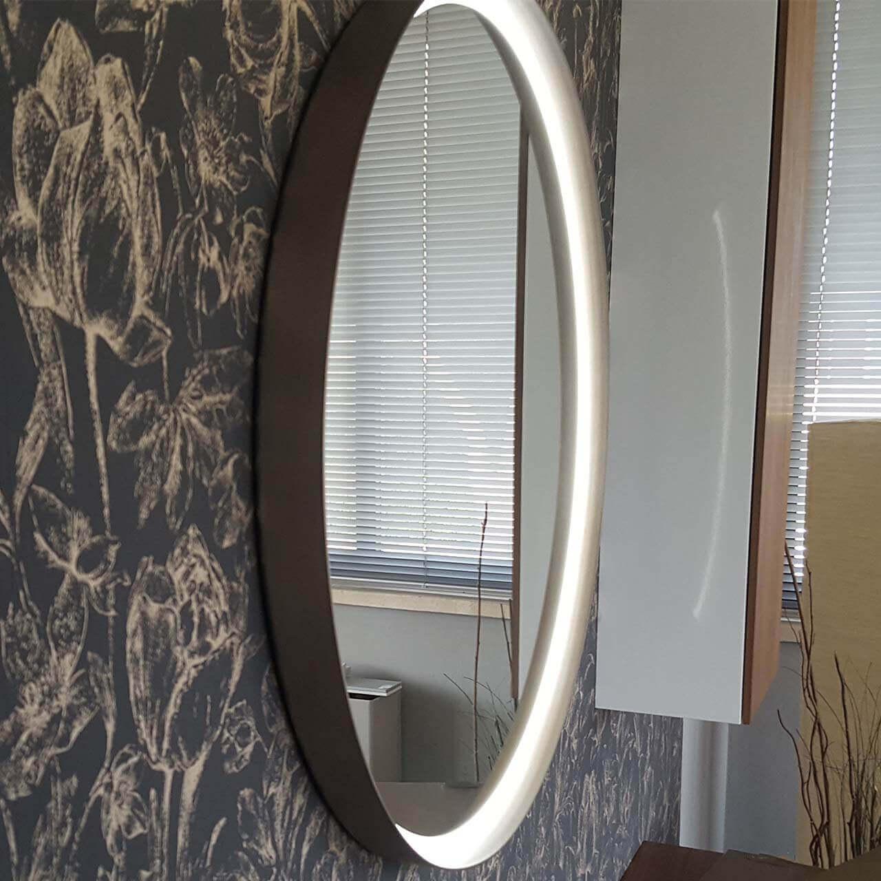 specchio led Centro platino