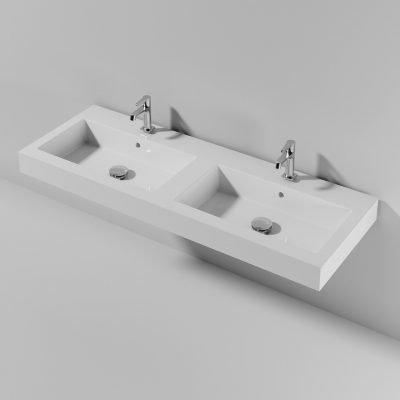 Piano Sospeso doppia vasca Fonte141