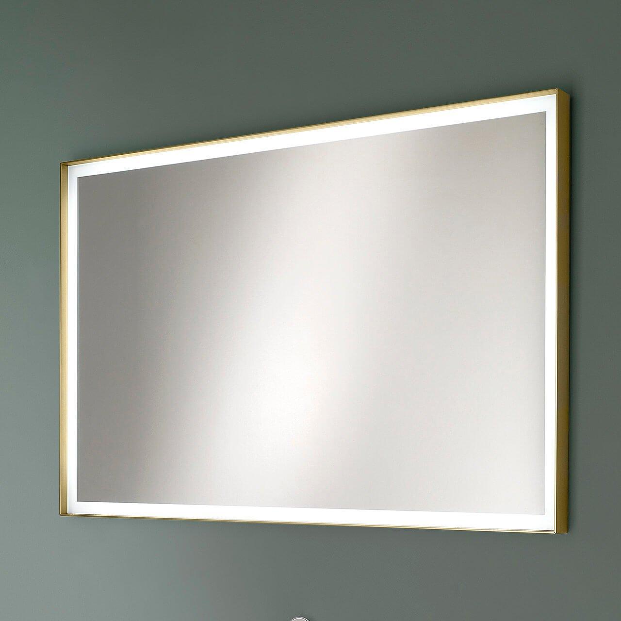 specchio charme bronzo